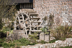 Old water mill, Veules des Roses, Normandy Stock Photos