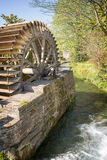 Old water mill, Veules des Roses, Normandy Stock Images