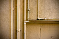 Old water pipes Royalty Free Stock Photography