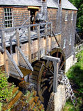 Old water powered sawmill Royalty Free Stock Image