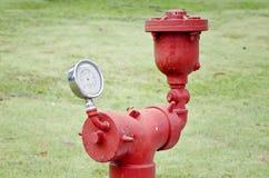 Old water pressure meter Stock Photos