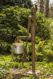 Old water pump. Antique countryside water manual pump royalty free stock image