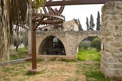 Old water pump Binyamina. Old water pump from the beginning of 20th century in Binyamina Israel Stock Image