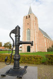 Old water pump in Dutch Renesse Stock Image