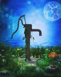 Old water pump Royalty Free Stock Images