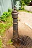 Water pump. Old water pump at Norsk Folkemuseum, Oslo royalty free stock photo