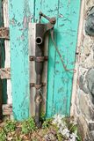 Old water pump. Royalty Free Stock Photos