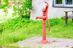 Old water pump Stock Image