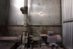 Old water pump system Royalty Free Stock Photography