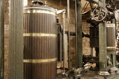 Old water pumping station Stock Photography