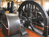 Old water pumping station Stock Photos