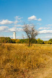 Old water supply tower near Donetsk,Ukraine Royalty Free Stock Images