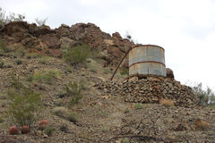 Old water tank Stock Photos