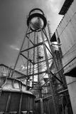 Old water tank Royalty Free Stock Images