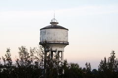 Old water tanks Stock Image