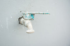Old water tap Royalty Free Stock Photography