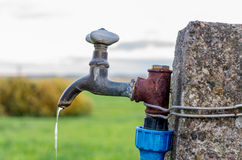 Old water tap Stock Images