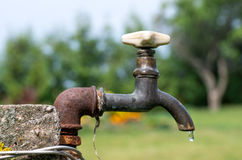 Old water tap Royalty Free Stock Images