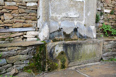 Old water taps in village of Zheravna, Bulgaria.  Stock Images