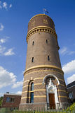 Old water tower. The old water tower in Tilburg Holland Royalty Free Stock Image