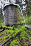 Old Water Tower 2. Old Water Tower in rural countryside Columbia River Gorge Vertical Royalty Free Stock Image