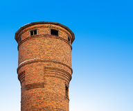 The old water tower. The old water tower of bricks Stock Photos