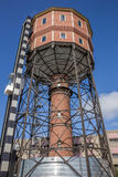 Old water tower in the center of Groningen Royalty Free Stock Photography