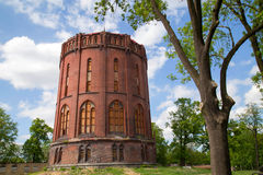Old water tower Royalty Free Stock Images