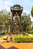 Old Water Tower. An old water tower Heritage Square in Oxnard, California Stock Photo