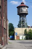 Old water tower in Katowice, Poland Royalty Free Stock Images