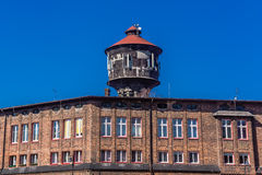 Old water tower in Nikiszowiec Royalty Free Stock Photos