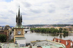 Old water tower. In Prague Stock Images