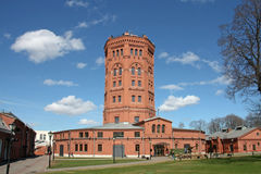The old water tower, St. Petersburg, Russia Royalty Free Stock Images