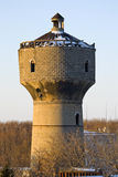 The old water tower at sunset Royalty Free Stock Photography