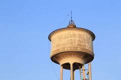 Old water tower tank Royalty Free Stock Photography