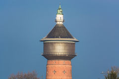 Old Water Tower in Velbert, Germany. Old Water Tower at the Steeger Straße in Velbert, Germany Stock Photos