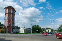 Old water tower Royalty Free Stock Photography