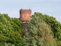Old water tower of Zaltbommel, Netherlands Royalty Free Stock Photo