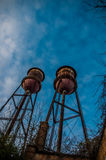 Old Water Towers Royalty Free Stock Image