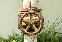 Old water valve Royalty Free Stock Photo