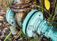 Old Water valve opening Royalty Free Stock Photos