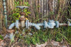 Old Water valve opening Stock Photography