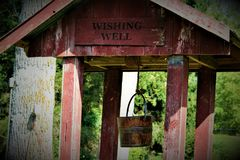 Old Water Well Stock Photo