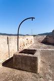 Old Water Well At Fort Stella, Elba Island Royalty Free Stock Photography