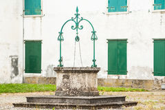 The old water well,Italy Royalty Free Stock Photography