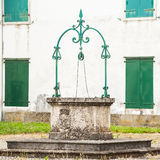 The old water well,Italy Stock Photos