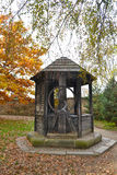 Old water well in Prague Stock Image