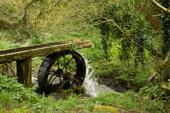 An old water wheel Stock Photography