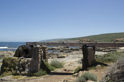 Old Water Wheel  Augusta Western Australia Stock Photo