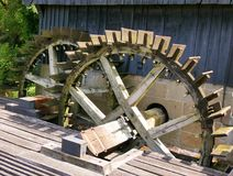 Old water wheels Stock Photography
